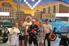 Chapter members at the Vintage Grill & Museum