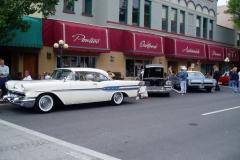 Front of Pontiac Museum in Pontiac, IL