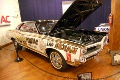 Tin Indian race car in the Pontiac Museum