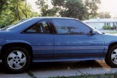 "Lori Scoggins Junction City, KS 3.1L, dual stainless steel exhaust, gauges, 16"" aluminum wheels, ground effects, rear spoiler"