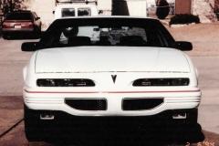 "Lori Scoggins Junction City, KS 93, 3.1L, Stainless steel exhaust, 4 wheel disc brakes, gauges, 45/55 split reclining front seat,15"" cast aluminum wheels"