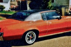 Ray Stoeck Evans, GA 72 Vinyl top, Rally II wheels