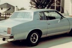 Chris Ksenich Vermiiion, OH 1978 301, A/C, Rally II wheels,