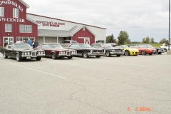 GP cruisers lineup, fall cruise at the Hudson museum