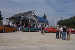 Standard Service Station in Odell Ill