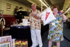 Chuck & Eva went over & above with door prizes