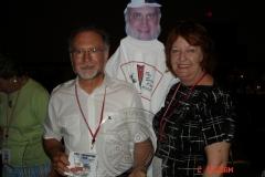 Don & Linda Kobel with Ray at the awards banquet at the convention in Ontario, CA