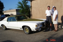 Mark Pataluch checking out Dave Brown's 70 SSJ
