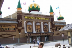 This is it, the Corn Palace
