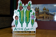 Corn Heads, Ray is with us!