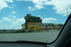 We stopped in Murdo,SD and checked out the auto museum, it had been on billboards for miles.