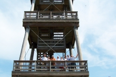 Something unusual in IL, a fire lookout tower so we had to stop & check it out.