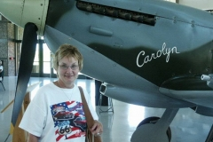 Carol Koszi found her namesake plane