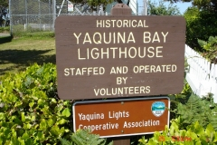Yaquina Bay Lighthouse near Newport, OR